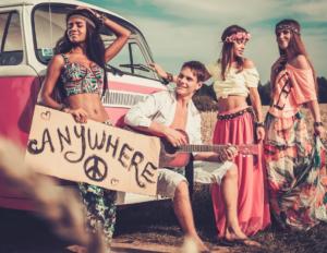 jovenes hippis
