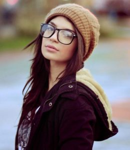 mujer hipster